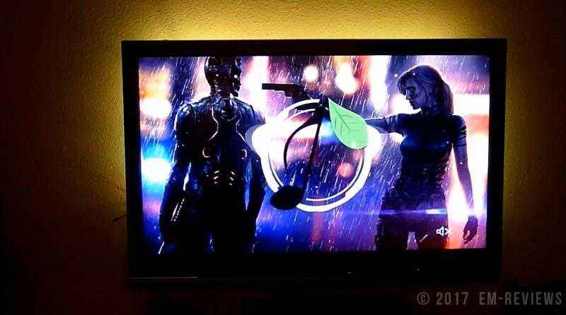 Gr4tec tiras led rgb tv impermeables luces regulables 50cm for Tiras led para tv