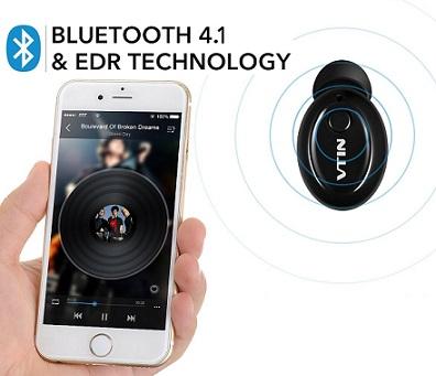 Mini auricular Bluetooth 4.1