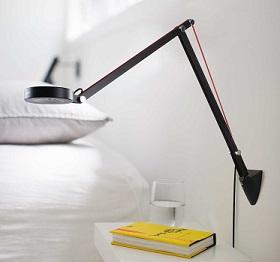 Opinión: Aglaia Lámpara de Escritorio Luz de Led con Brazo Oscilante Regulable.