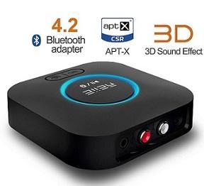 Opinión: REIIE Receptor Bluetooth para Sonido HD B06 Soporte 3D Surround CRS BT 4.2.