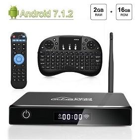 Opinión: Goobang Doo XB III TV Box Android 7.1 con Mando y Mini Teclado.