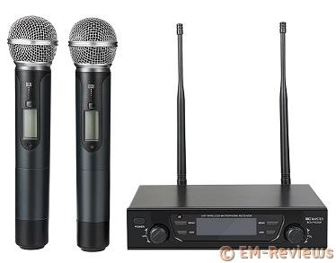 Micrófonos sin cable